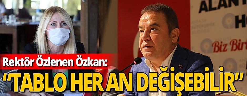 Rektör Özlenen Özkan'dan Muhittin Böcek açıklaması