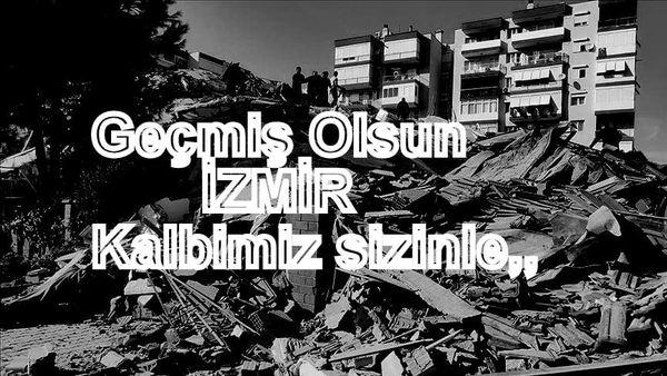 Kemer Sporlu Futbolculardan İzmir'e Destek!