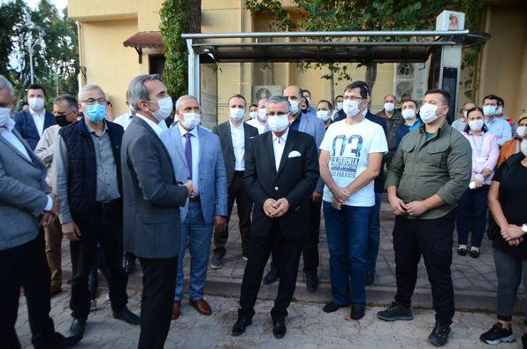 Kemer Yardım Tır'ı İzmir'e Uğurlandı!