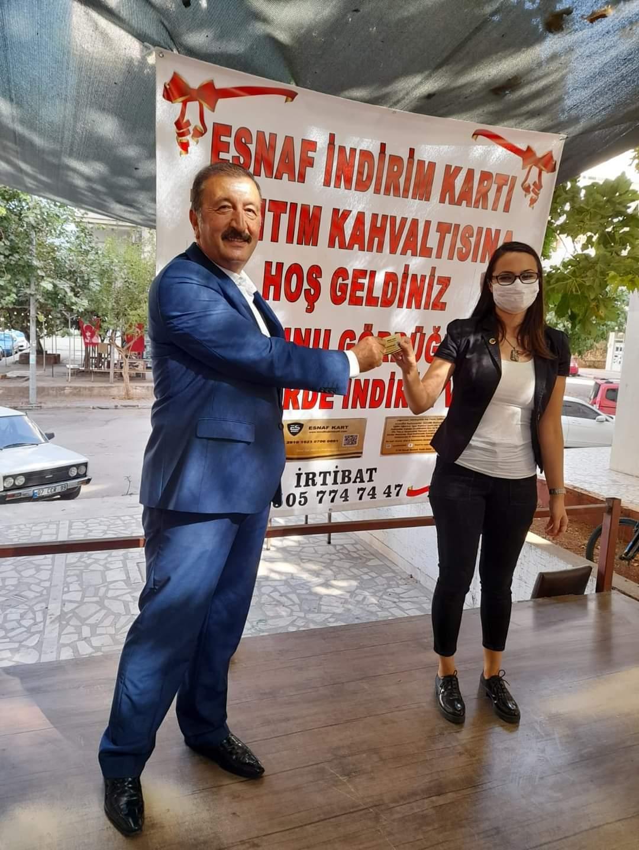 ESNAF İNDİRİM KARTINA YOĞUN TALEP!