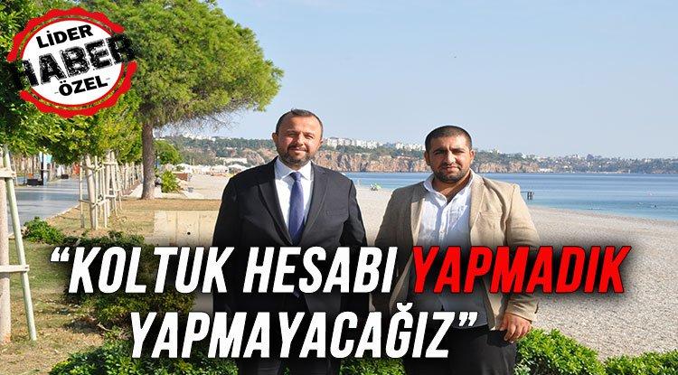 """TAŞ """"KOLTUK HESABI YAPMADIK YAPMAYACAĞIZ"""""""