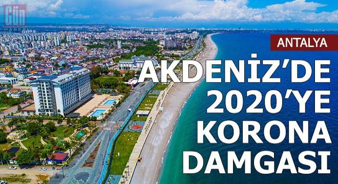 Akdeniz'de 2020'ye korona damgası