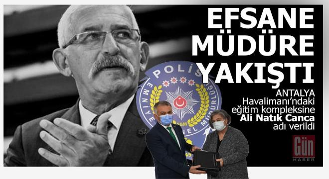 Antalya'nın efsane Emniyet Müdürüne yakıştı…