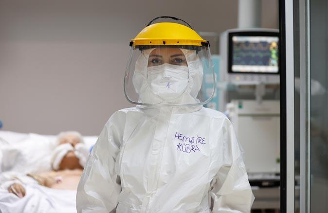 Fedakar Sağlık Çalışanları Yeni yıla da nöbette girdi