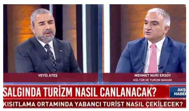 Mehmet Nuri Ersoy: Turizmi nisanda açarız ağustosta dolarız