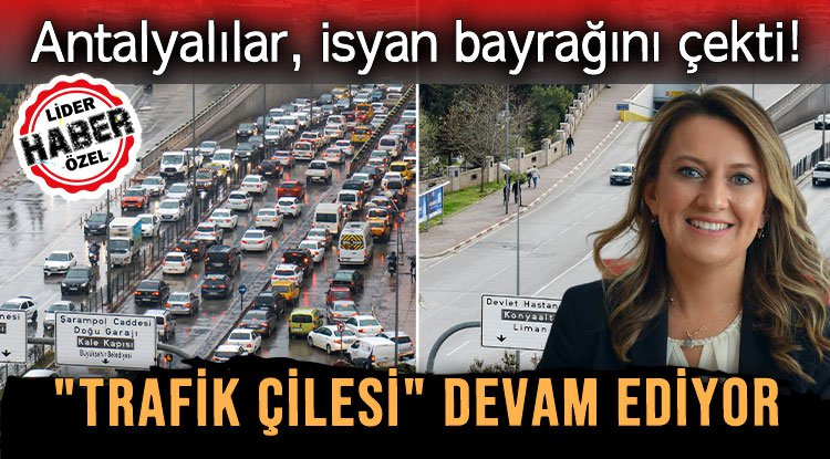 """""""TRAFİK ÇİLESİ"""" DEVAM EDİYOR"""