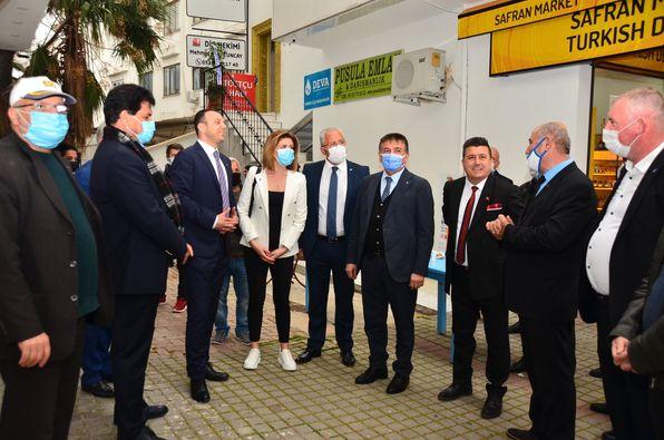 DEVA Partisi İlçe Binası Açıldı!
