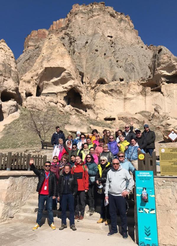 ANTALYA Ruslar artık Anadolu'nun doğal ve tarihi güzelliklerini geziyor