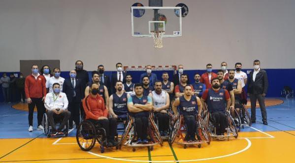 Tekerlekli Sandalye Basketbol A Milli Erkek Takımı, Kemer'de kampa girdi