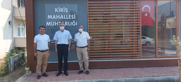 GEMİCİ' nin mahalle ziyaretleri devam ediyor