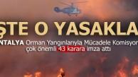 Orman yangınlarının önüne geçmek için 43 kural