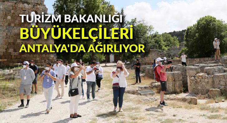 Turizm Bakanlığı, Büyükelçileri Antalya'da ağırlıyor