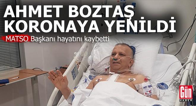 Antalya'da iş dünyası yasta…