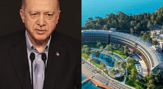 Cumhurbaşkanı Recep Tayyip Erdoğan Kemer de