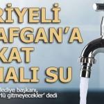 Belediye karar aldı; Suriyeli ve Afganlı göçmene 10 kat pahalı su…