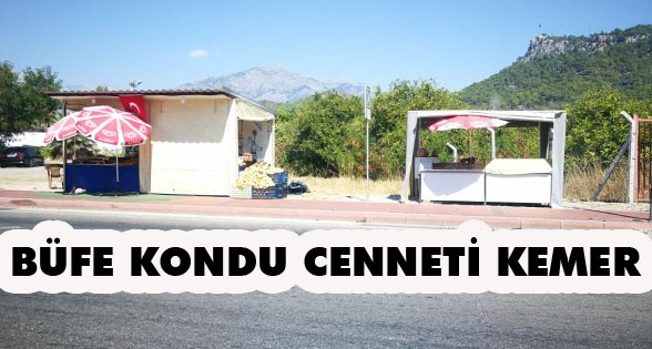 BÜFE KONDU CENNETİ KEMER