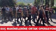 KEMER'DE POLİS VE JANDARMADAN ORTAK OPERASYON