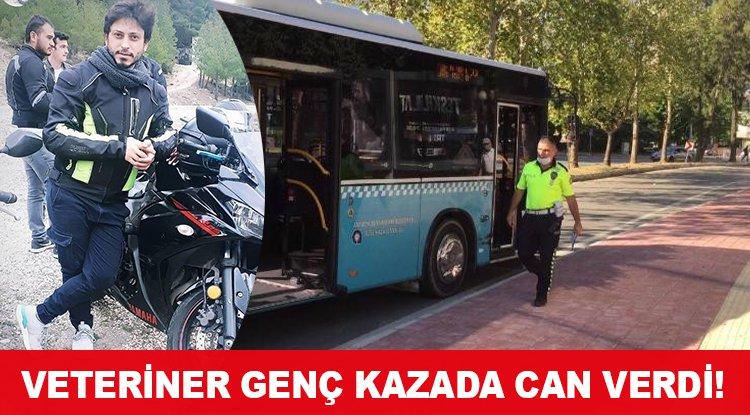 VETERİNER GENÇ KAZADA CAN VERDİ!