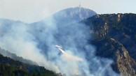 Kemer deki Orman yangını devam ediyor