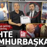 Sahte cumhurbaşkanı Antalyalı siyasileri de kandırmış